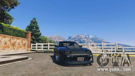 Nissan 180sx for GTA 5