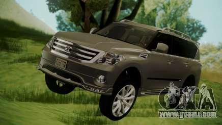 Nissan Patrol IMPUL 2014 for GTA San Andreas
