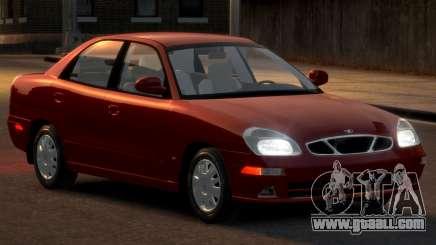 Daewoo Nubira II Sedan SX USA 2000 for GTA 4