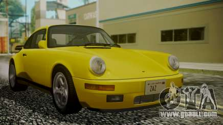RUF CTR Yellowbird 1987 for GTA San Andreas