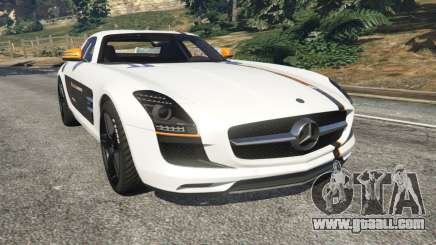 Mercedes-Benz SLS AMG Coupe for GTA 5