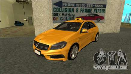 Mercedes-Benz A45 AMG Taxi 2012 for GTA San Andreas
