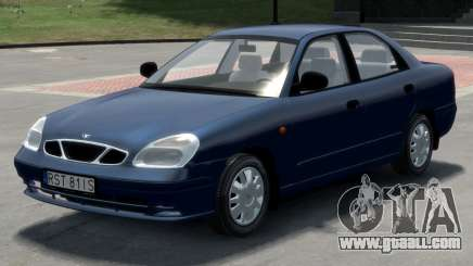 Daewoo Nubira II Sedan S PL 2000 for GTA 4