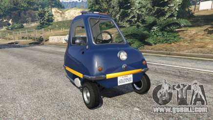 Peel P50 Police for GTA 5