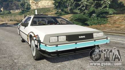 DeLorean DMC-12 Back To The Future v0.5 for GTA 5