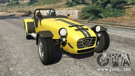 Caterham Super Seven 620R v1.5 [yellow] for GTA 5