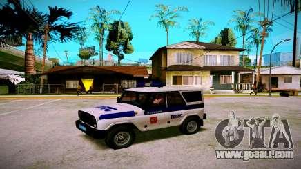 UAZ-hunter PPP Service for GTA San Andreas