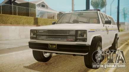 GTA 5 Declasse Rancher XL Police for GTA San Andreas