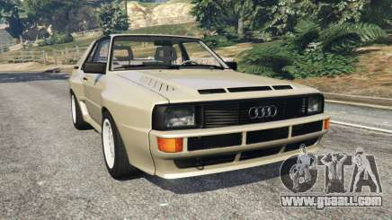 Audi Sport quattro v1.4 for GTA 5