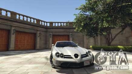 Mercedes-Benz SLR 2005 v2.0 for GTA 5