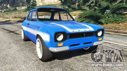 Ford Escort Mk1 v1.1 [blue] for GTA 5