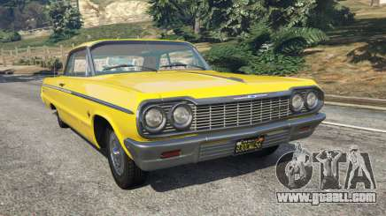 Chevrolet Impala SS 1964 for GTA 5