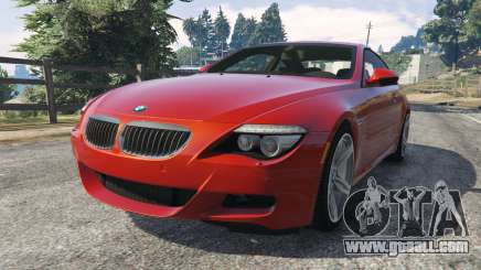 BMW M6 (E63) Tunable v1.0 for GTA 5
