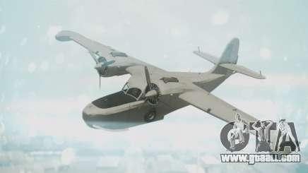 Grumman G-21 Goose Grey for GTA San Andreas