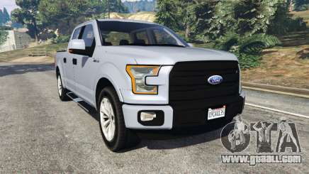 Ford F-150 2015 for GTA 5