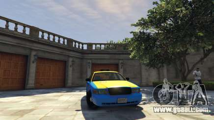 Ford Crown Victoria Taxi v1.1 for GTA 5