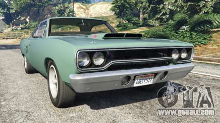 Plymouth Road Runner 1970 [fix] for GTA 5