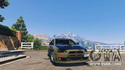 Mitsubishi Lancer EVO X FQ-400 2010 v1.2 for GTA 5