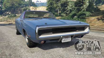 Dodge Charger RT 1970 v3.0 for GTA 5