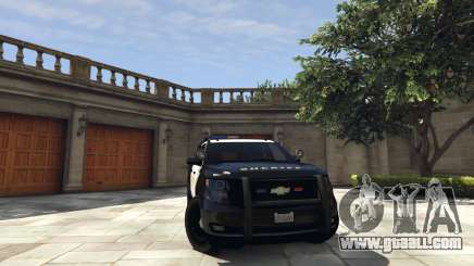 Chevrolet Suburban Sheriff 2015 for GTA 5