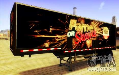GTA V Fame or Shame Trailer for GTA San Andreas