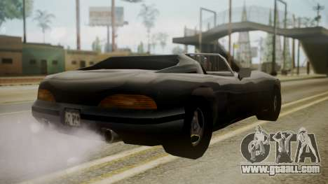 Banshee III for GTA San Andreas left view