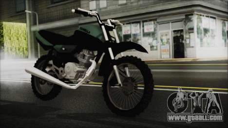 Zanella RX150 Cross for GTA San Andreas