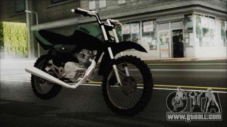Zanella RX150 Cross for GTA San Andreas