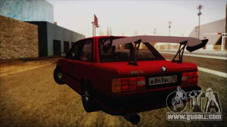 BMW M3 E30 Coupe Drift for GTA San Andreas left view