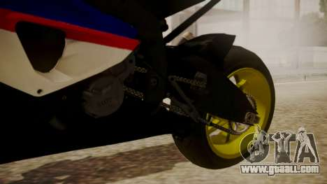 BMW S1000RR Limited for GTA San Andreas right view