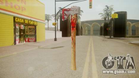 GTA 5 Katana for GTA San Andreas second screenshot