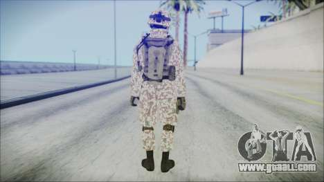 Bundeswehr Desert v1 for GTA San Andreas third screenshot