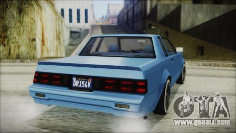 GTA 5 Willard Faction Custom IVF for GTA San Andreas left view