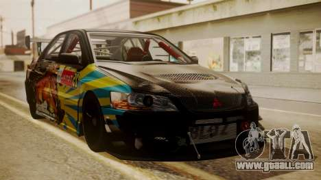 Mitsubishi Lancer Evolution Pushkar for GTA San Andreas