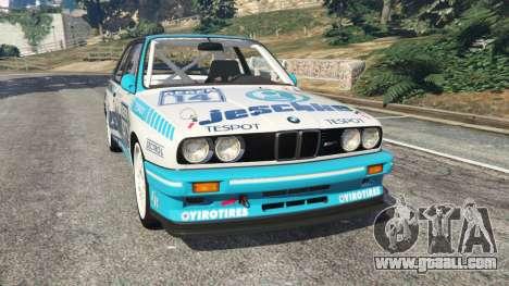 BMW M3 (E30) 1991 [Jeschke] v1.2 for GTA 5