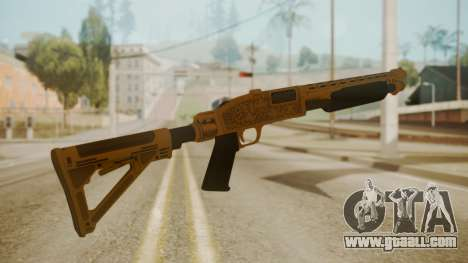 GTA 5 Pump Shotgun for GTA San Andreas second screenshot