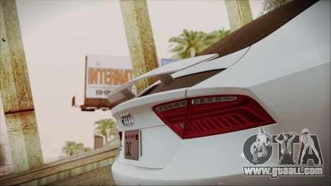 Audi RS7 Sportback 2015 for GTA San Andreas engine