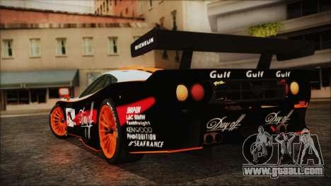McLaren F1 GTR 1998 for GTA San Andreas left view