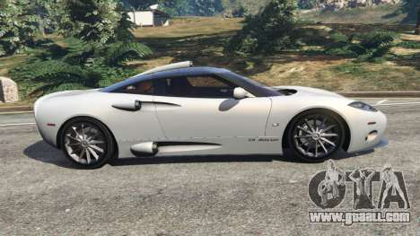 GTA 5 Spyker C8 Aileron left side view