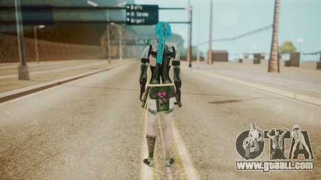 Jinxed Akali for GTA San Andreas third screenshot