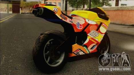 GTA 5 Bati HD for GTA San Andreas left view