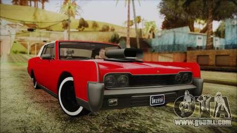 GTA 5 Vapid Chino Custom IVF for GTA San Andreas