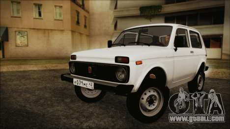 VAZ 2121 Niva 1600 for GTA San Andreas