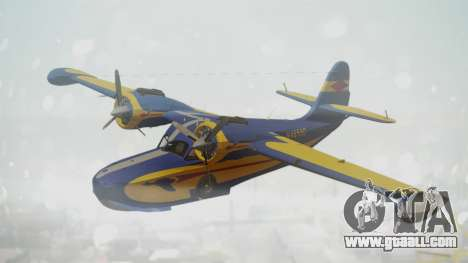Grumman G-21 Goose N48550 for GTA San Andreas