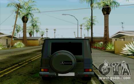 Mercedes-Benz G500 1999 for GTA San Andreas back view