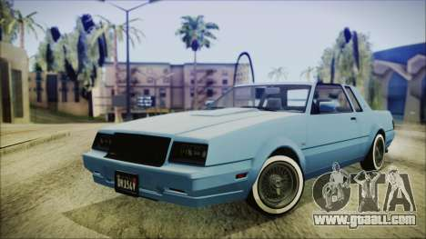 GTA 5 Willard Faction Custom IVF for GTA San Andreas
