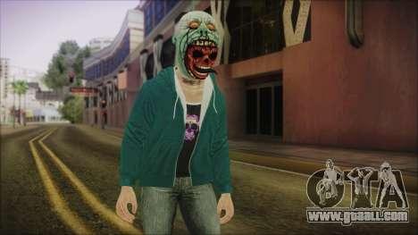 DLC Halloween GTA 5 Skin 1 for GTA San Andreas
