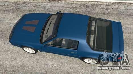 Chevrolet Camaro IROC-Z [Beta 3] for GTA 5