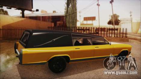 GTA 5 Albany Lurcher IVF for GTA San Andreas left view