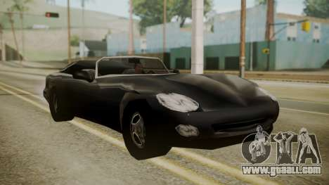 Banshee III for GTA San Andreas back left view